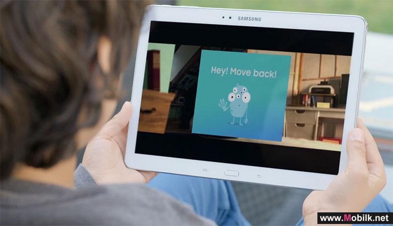 سامسونج تطلق تطبيقا للحفاظ على عيون الاطفال من الهواتف والتابلت