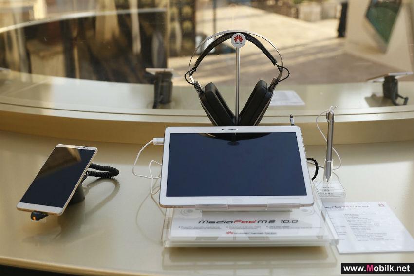هواوي تنطلق بابتكاراتها إلى مستوى جديد مع إطلاق هاتف Mate 8 والجهاز اللوحي M2 في منطقة الشرق الأوسط
