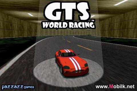 لعبة سباق سيارات على أجهزة ايفون GTS World Racing