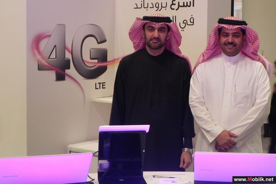 E-Government CEO Visits VIVA's 4G LTE Networks Booth