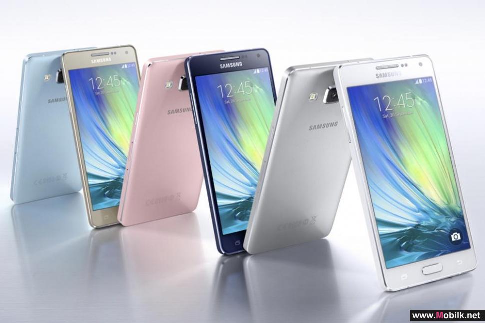 سامسونج تكشف النقاب رسميا عن الهاتفين Galaxy A3 و Galaxy A5