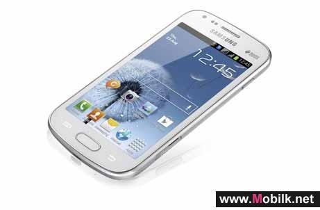 سامسونج تكشف عن الهاتف الذكي الجديد GALAXY S DUOS