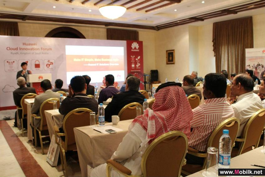 Huawei Highlights How More Agile Business Services Will Build a Better Connected Nation in KSA