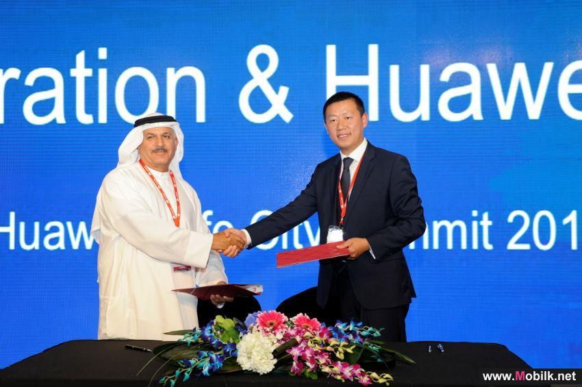 دبي الجنوب وهواوي يتعاونان في ابتكارات المدينة الذكية