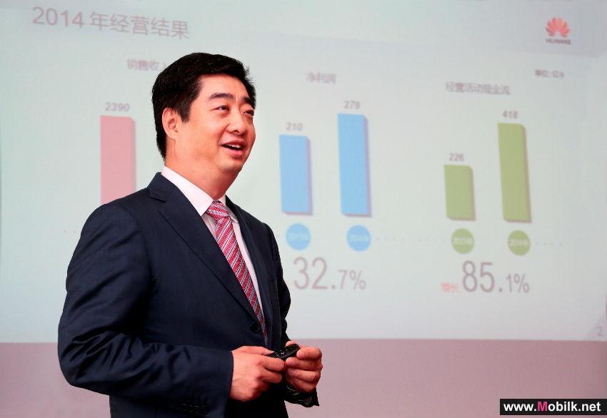 Huawei Reports USD46.5 billion Revenue for 2014
