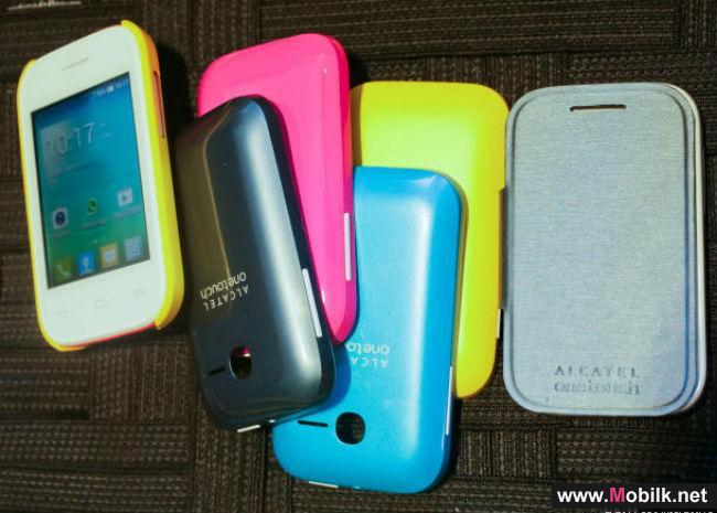 """""""ألكاتيل"""" تكشف عن مجموعة من الهواتف الذكية على هامش MWC 2014"""
