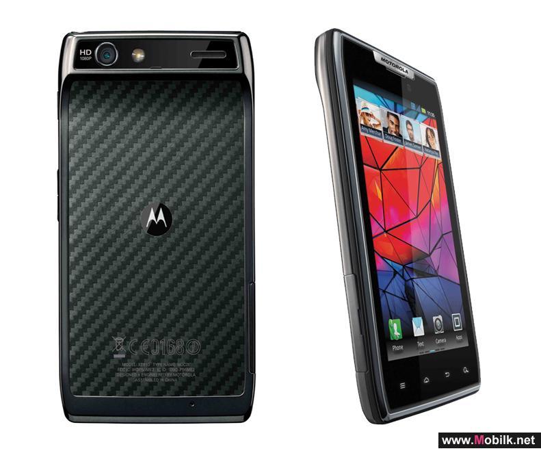 الهاتف الذكي Motorola RAZR الهدية المُثلى في موسم الأعياد