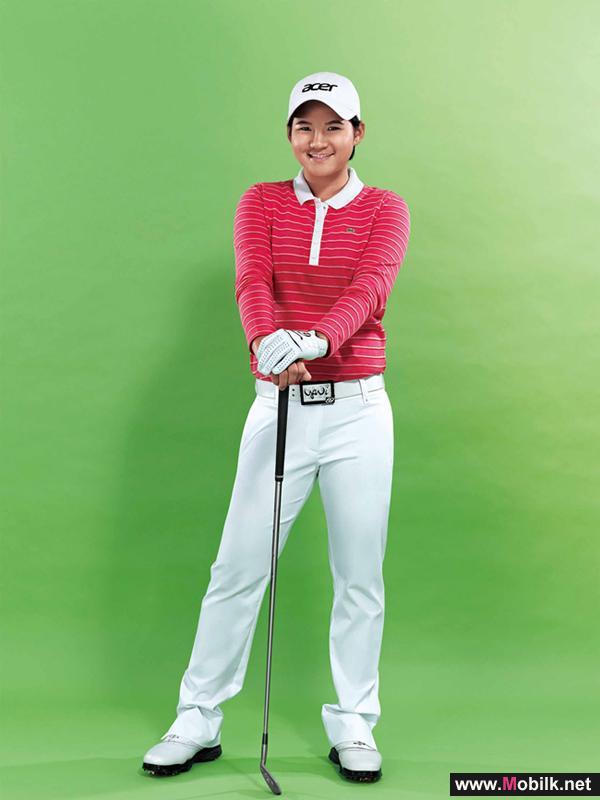 Acer Names Yani Tseng as the Company's  Global Brand Ambassador