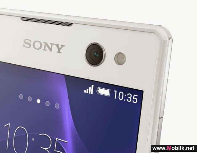 هاتف سوني Xperia C3 جديد لعشاق صور Selfie